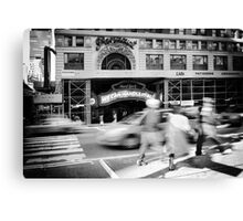 Streets of New York III Canvas Print