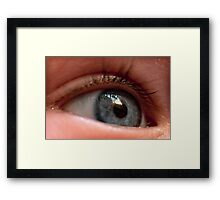 Childs Eye Framed Print
