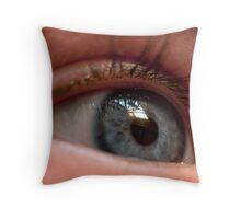 Childs Eye Throw Pillow