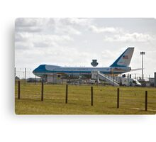 Airforce One Canvas Print