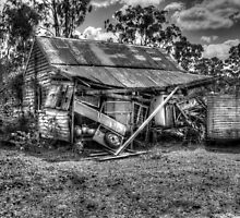 B/W - Old Dilapidated Building by bloke28
