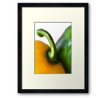 Peppers Framed Print