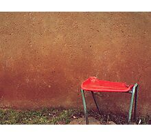 Rural Red Photographic Print