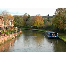 Canal at Parbold Photographic Print