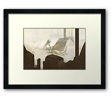 Temple of the Worm Framed Print