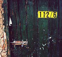 Green Door by Jether Sweetnam
