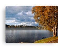 Autumn in Druskininkai Canvas Print