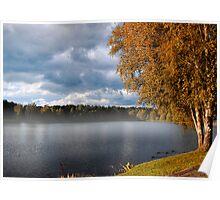 Autumn in Druskininkai Poster