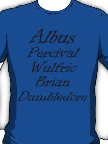 Dumbledore T-Shirt