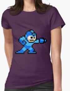 Mega Man Womens Fitted T-Shirt