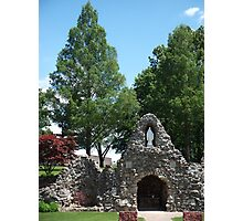 Grotto at Shrine of the Miraculous Medal Photographic Print