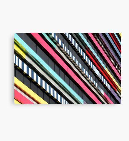 Multicolor façade Canvas Print