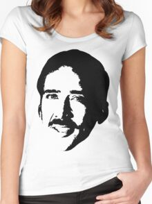 Nicolas Cage 2 Women's Fitted Scoop T-Shirt