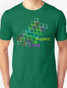 Music Is Life Unisex T-Shirt