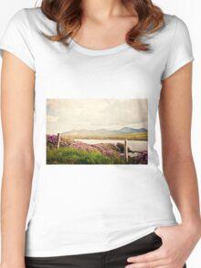 Half-broken Hearted Women's Fitted Scoop T-Shirt