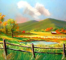 """Poor Valley"" Southwest Virginia by John Shull"