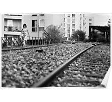 Railway girl Poster