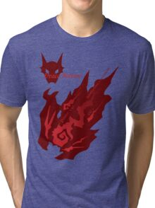 Draco Meteor Tri-blend T-Shirt
