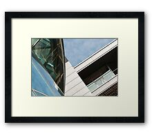 Architectural Abstract No.7 Framed Print