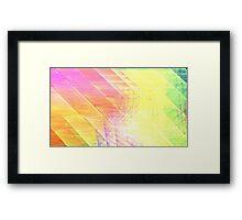 Prism Lines Framed Print