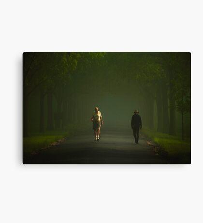 Passing Canvas Print