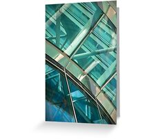 Abstract Window Detail Greeting Card