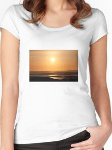To Be Free Women's Fitted Scoop T-Shirt