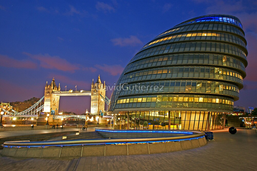 London Old and New Architecture by DavidGutierrez