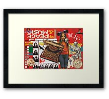 In search for Nirvana Framed Print