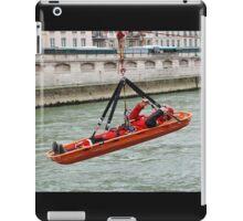 Paris firefighter training iPad Case/Skin