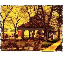 Depot Park Gazebo Photographic Print