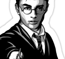 Fast Times at Hogwarts- Harry Potter Parody Sticker