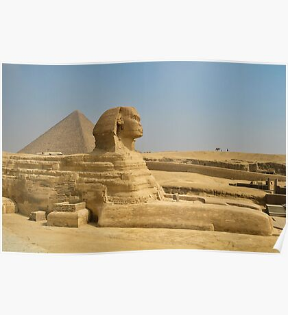 sphinx side view.. Poster