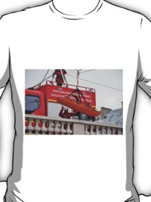 Firefighter exercise, Paris T-Shirt