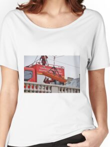 Firefighter exercise, Paris Women's Relaxed Fit T-Shirt