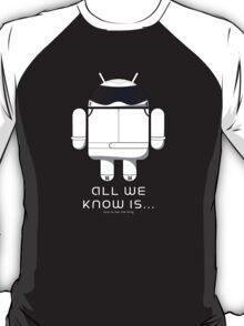 British Racing Droid (text) T-Shirt