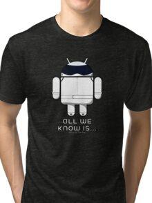 British Racing Droid (text) Tri-blend T-Shirt