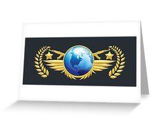 Global Elite Emblem Greeting Card