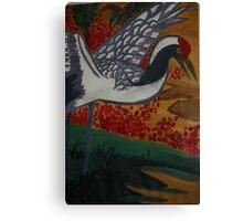 Crane Flys East Canvas Print