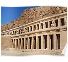 Hatshepsut Temple.. Poster