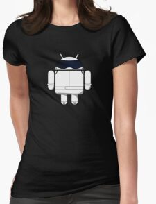 British Racing Droid Womens Fitted T-Shirt
