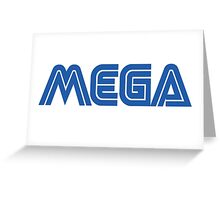 MEGA (SEGA) Greeting Card