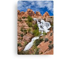 Faux Falls 2 Canvas Print