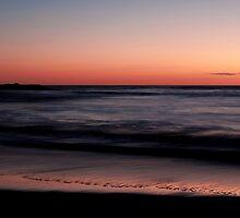 Sunset Greenough Beach WA by Tawnydal