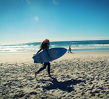 Surfer #3 by Lauren Tober