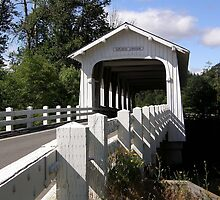 Grave Creek Covered Bridge - Josephine County, OR by Rebel Kreklow