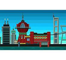 Futurama Pixelated Photographic Print