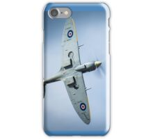 Spitfire in Flight iPhone Case/Skin