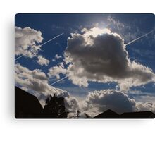 Sky Trails Canvas Print