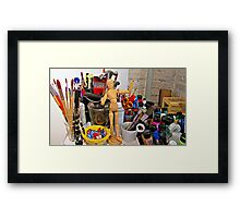 Imagination's Playground Framed Print